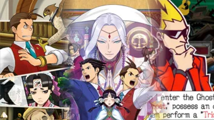 Ace Attorney Ghost Trick iOS
