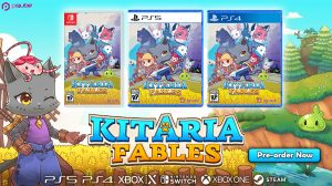 Kitaria Fables Launches September 3
