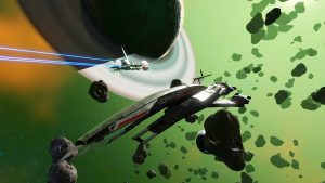 No Man's Sky Adds the Normandy SR1 Ship from Mass Effect