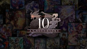 Rage of Bahamut 10th Anniversary Teaser Website Launched