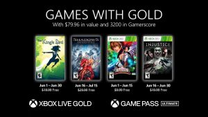 Games With Gold Lineup for June 2021 Announced