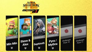 Final Super Smash Bros. Ultimate DLC Characters to be Launched this Year
