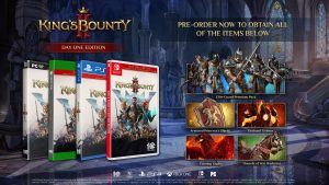 King's Bounty II Collector's Edition and Pre-order Bonuses Announced