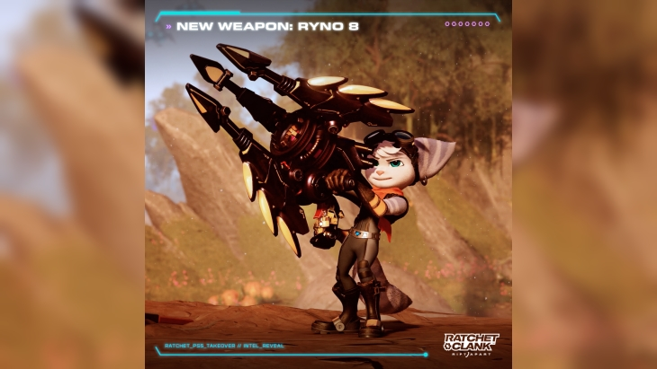 Ratchet & Clank: Rift Apart RYNO PlayStation easter eggs