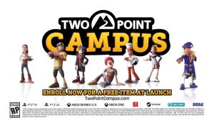 Two Point Campus Officially Announced, Launches 2022