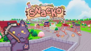 Cat Farmer Game Snacko Adds a Switch Version, Launch Set for 2022