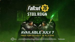 Fallout 76 Steel Reign Update and The Pitt Expansion Announced