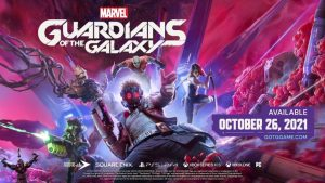 Square Enix Announces Marvel's Guardians of the Galaxy; Launches October 26