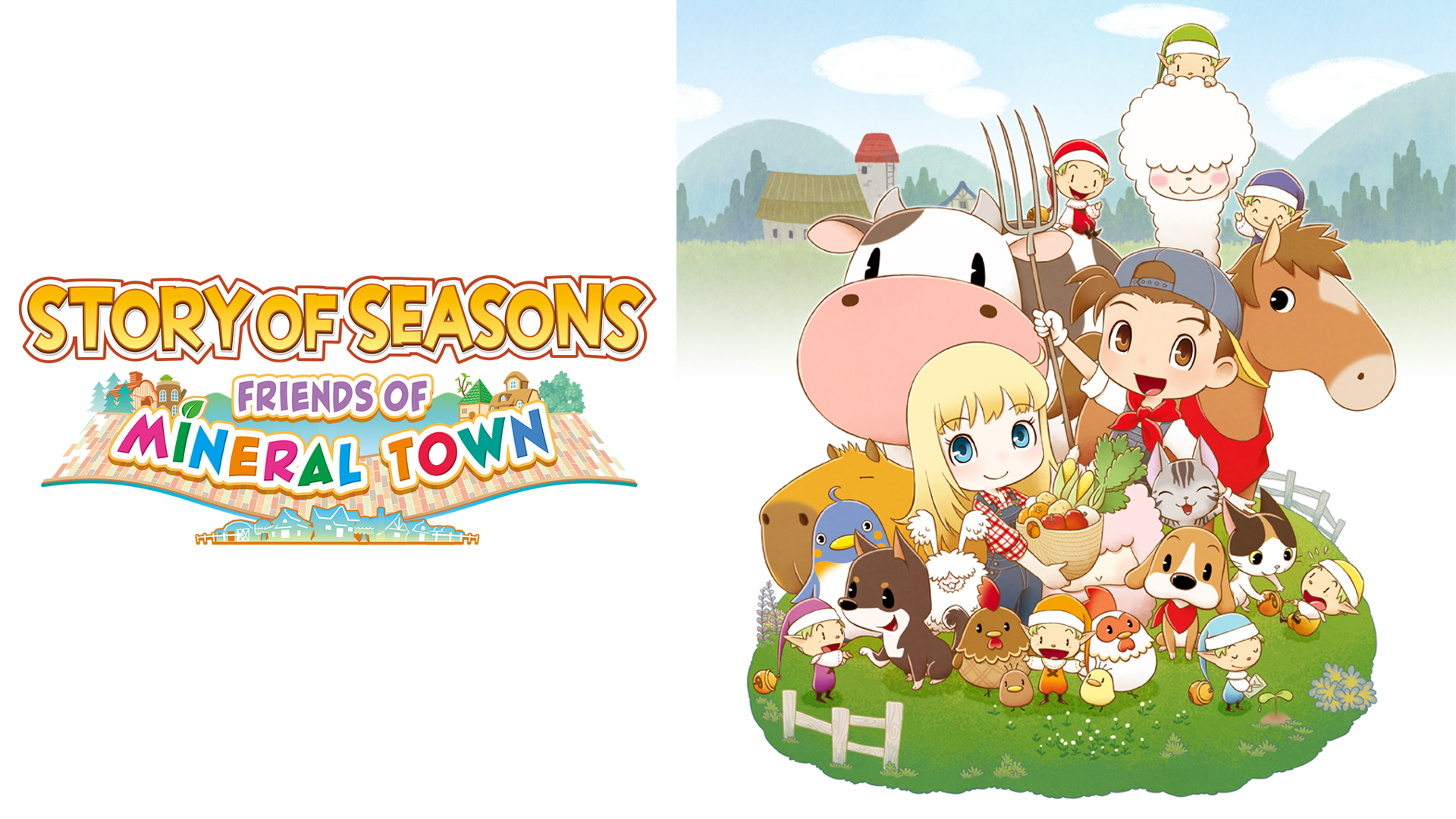Story of Seasons: Friends of Mineral Town Heads to Xbox One and PS4