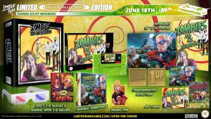 Limited Run Games Announce Physical Zombies Ate My Neighbors and Ghoul Patrol