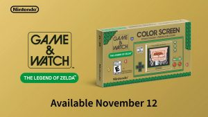 35th Anniversary Game & Watch: The Legend of Zelda Handheld Announced
