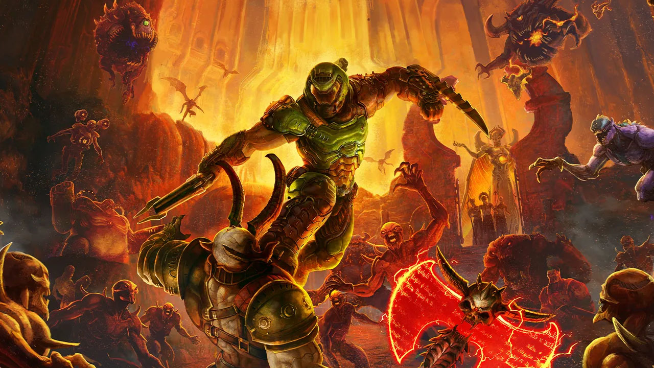 DOOM Eternal Launches for Xbox Series X S and PS5