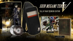 Shin Megami Tensei V SteelBook and Fall of Man Editions Announced for the West, New Gameplay Trailer