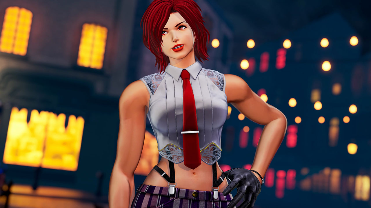 The King of Fighters XV Vanessa Reveal Trailer