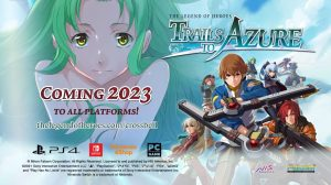 The Legend of Heroes: Trails to Azure Heads West in 2023 for PC, Switch, and PS4