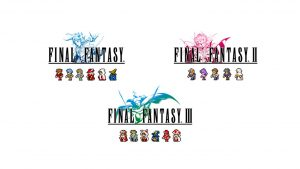 Final Fantasy Pixel Remaster Series for Final Fantasy I-III Launch July 28