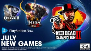 PlayStation Now Adds Red Dead Redemption 2, Nioh 2, God of War, Judgment, and More