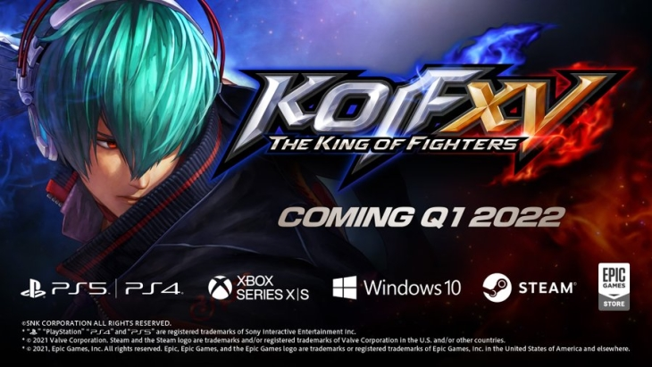 The King of Fighters XV platforms