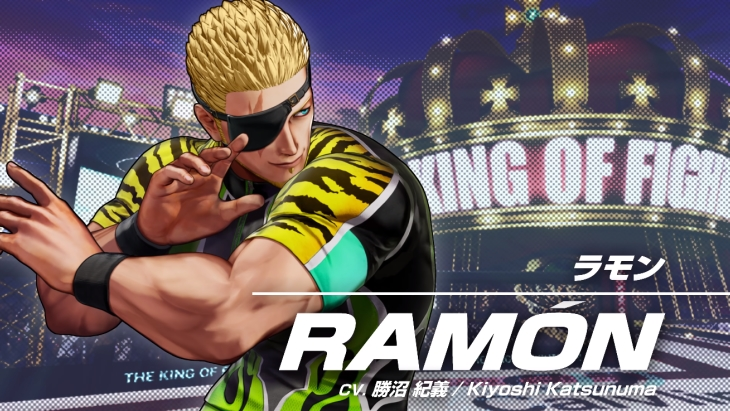 The King of Fighters XV Ramon