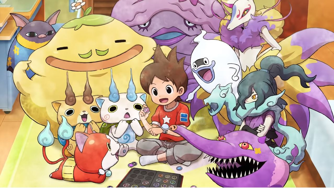 Yo-kai Watch 1 is Now Available for Smartphones in Japan