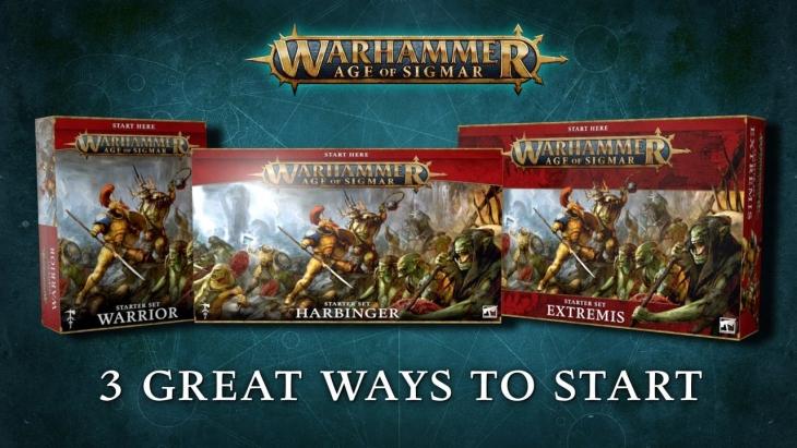 Games Workshop Announces Warhammer Age of Sigmar 3rd Edition Starter Sets