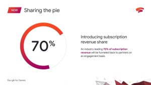 Google Stadia to Offer Subscription Revenue Share Based on Player Engagement; Bonus for Free Trials Becoming Subscriptions