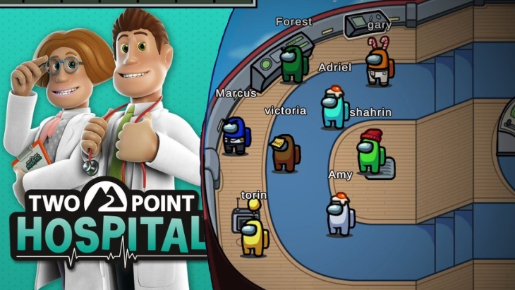 Two Point Hospital Among Us