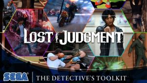 Lost Judgment The Detective's Toolkit English Gameplay Trailer