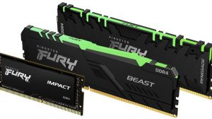 Kingston Releases New FURY Memory After HyperX Brand Sold to HP