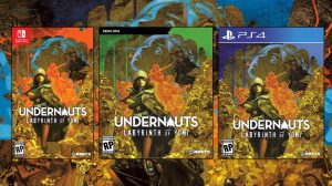 Undernauts: Labyrinth of Yomi Western Launch Set for October 28, PS5 Version Added