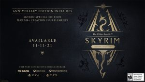 The Elder Scrolls V: Skyrim Anniversary Edition Announced for PC and Consoles