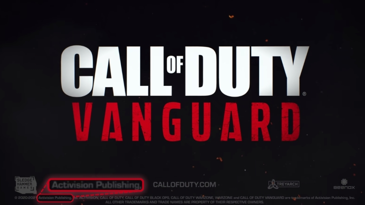 Call of Duty: Vanguard Activision