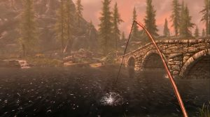 Skyrim is Getting an Official Fishing Mini-Game