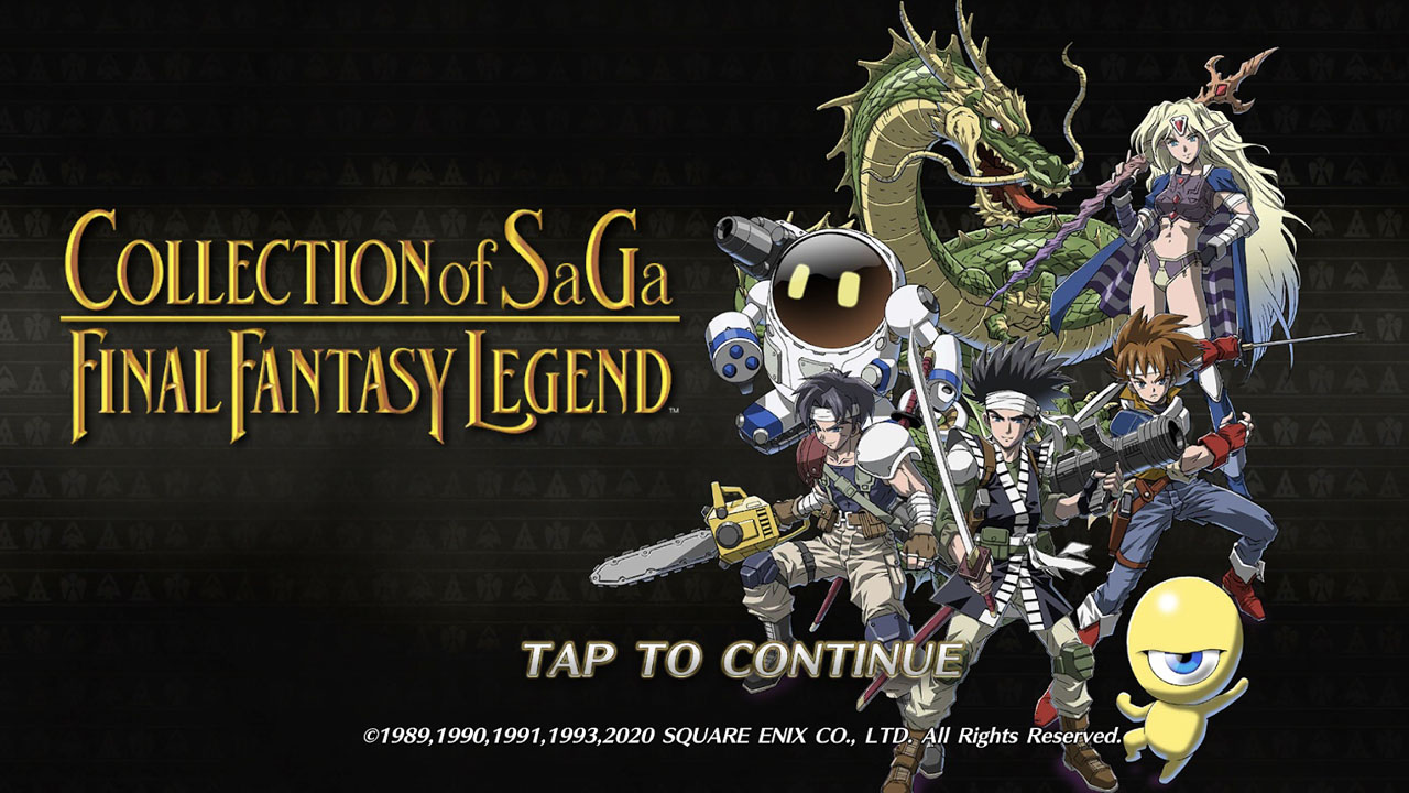 Collection of SaGa: Final Fantasy Legend is Coming to PC