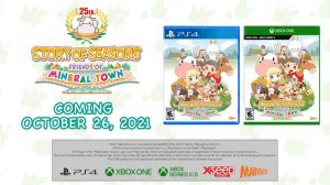 Story of Seasons: Friends of Mineral Town for Xbox and PlayStation Western Release Dates Set