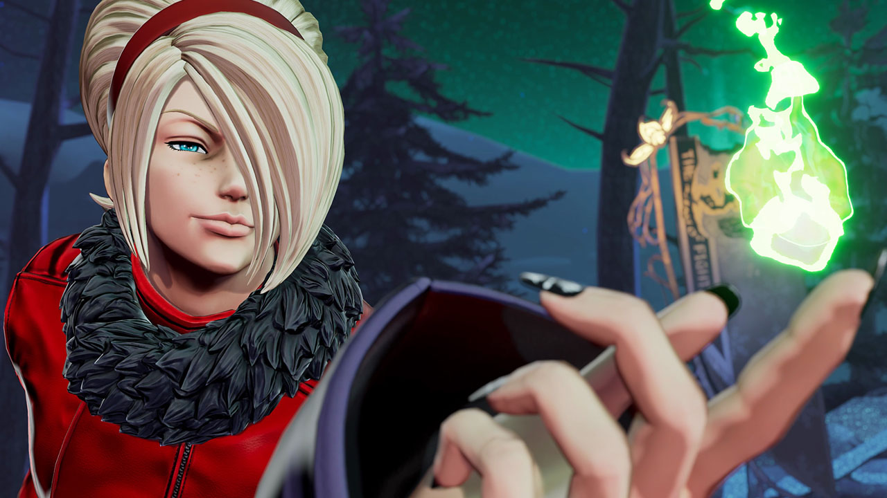 The King of Fighters XV Ash Crimson Reveal Trailer