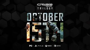 Crysis Remastered Trilogy Launches October 15