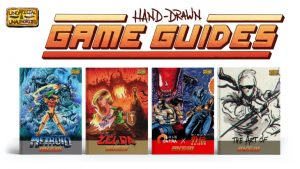 """Hand-Drawn Game Guides Kickstarter Cancelled by Creator Over Game Company Lawyer """"Concerns,"""" Hoping to Relaunch with Approval"""