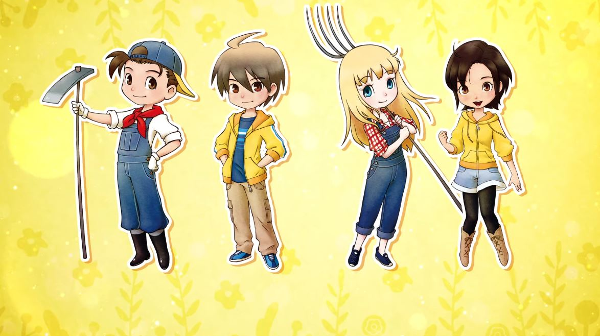 Story of Seasons: Friends of Mineral Town for Xbox One and PS4 Japanese Trailer