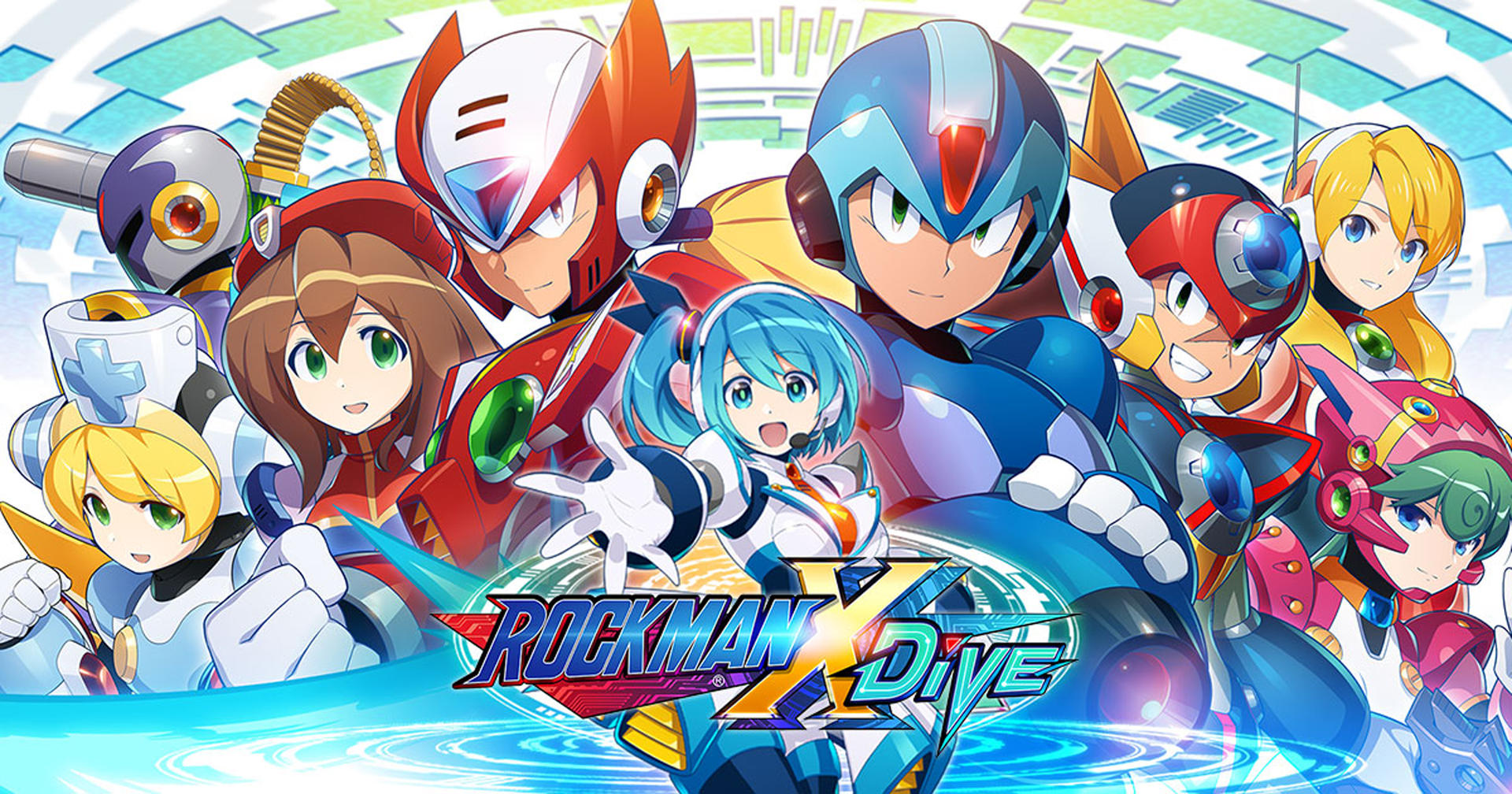 Mega Man X DiVE is Coming to PC