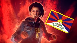 Chinese Players are Review Bombing Life is Strange: True ColorsOver a Tibetan Flag