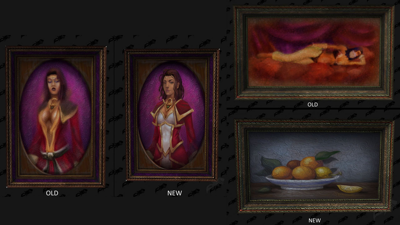 World of Warcraft Paintings Were Censored