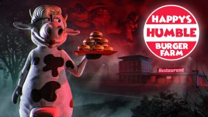 Horror-Cooking Game Happy's Humble Burger Farm Launches in 2021
