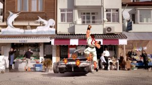 Turkish Commercial Recreates the Street Fighter II Car Mini-Game