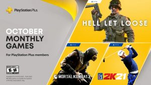 PlayStation Plus October 2021 Lineup Announced