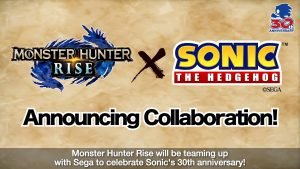 Monster Hunter Rise Collabs Announced – Sonic the Hedgehog and Ghosts 'N' Goblins