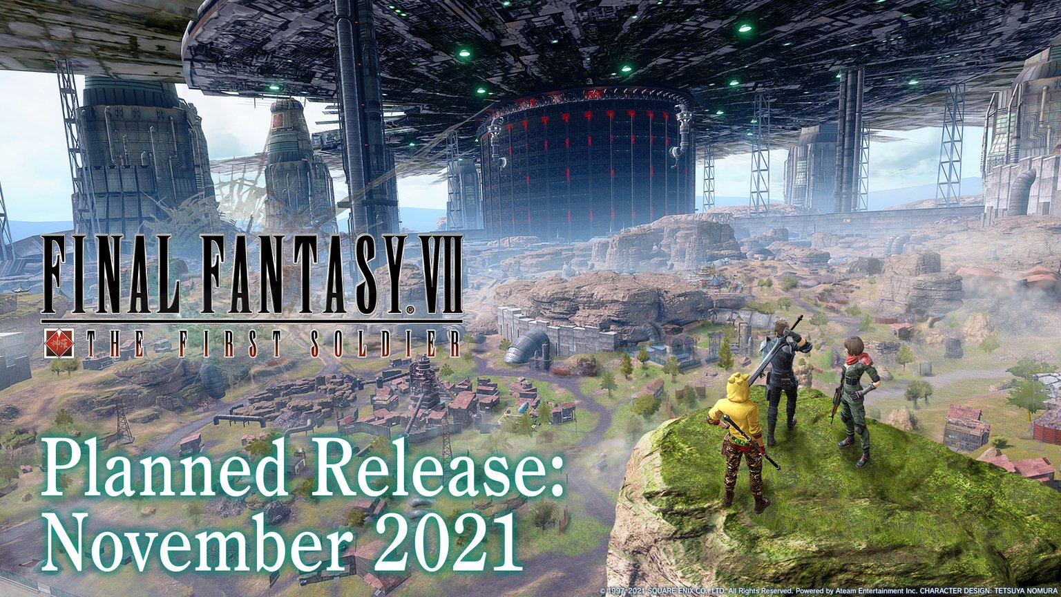 Final Fantasy VII: The First SoldierLaunches in November