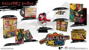 Strictly Limited Games Announce Abarenbo Tengu & Zombie Nation for Switch October 9; NES-Compatible Cart for Zombie Nation