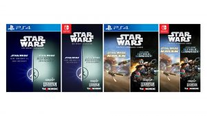 Star Wars Jedi Knight Collection and Star Wars Racer and Commando Combo Revealed for Switch and PS4