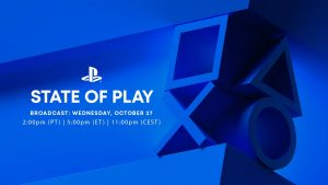 State of Play Broadcast Set for October 27